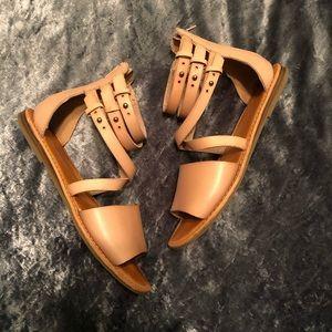 American Eagle Light Pink Sandals
